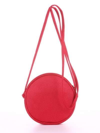 Модный клатч, модель 180043 красный. Фото товара, вид дополнительный.