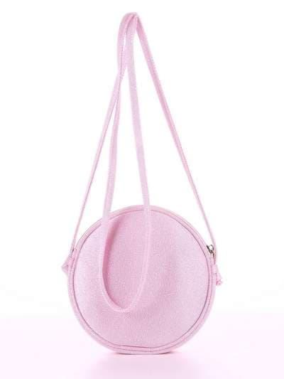 Брендовый клатч, модель 180044 розовый. Фото товара, вид дополнительный.