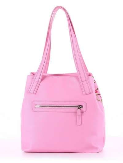 Модная сумка, модель 180131 розовый. Фото товара, вид дополнительный.