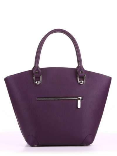 Летняя сумка, модель 180163 баклажан. Фото товара, вид дополнительный.