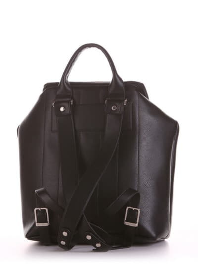 Летний рюкзак, модель 190071 черный. Фото товара, вид дополнительный.