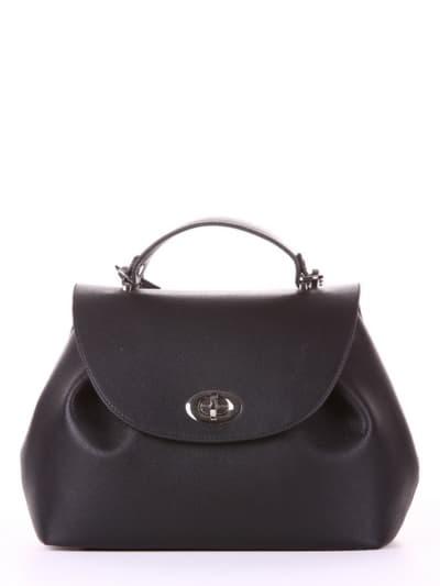 Летняя сумка, модель 190001 черный. Фото товара, вид спереди.
