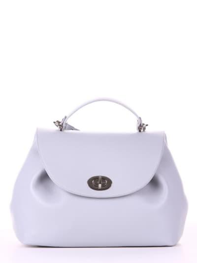 Летняя сумка, модель 190005 светло-серый. Фото товара, вид спереди.