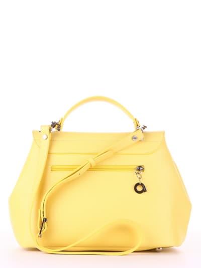 Стильная сумка, модель 190008 желтый. Фото товара, вид дополнительный.