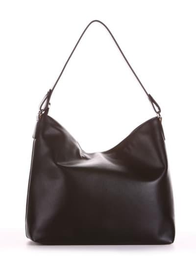 Брендовая сумка, модель 190011 черный. Фото товара, вид сзади.