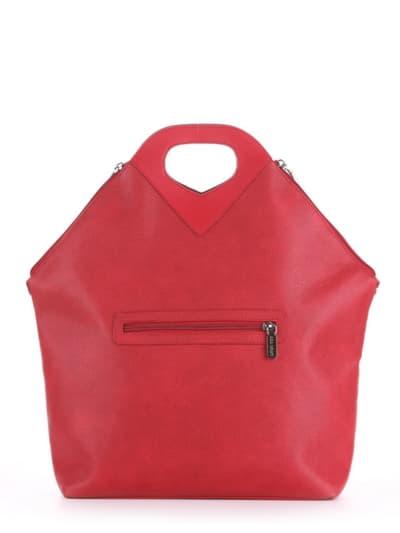 Літня сумка, модель 190032 червоний. Фото товару, вид додатковий.