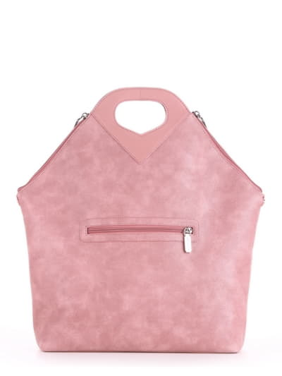 Модна сумка, модель 190033 троянда. Фото товару, вид ззаду.