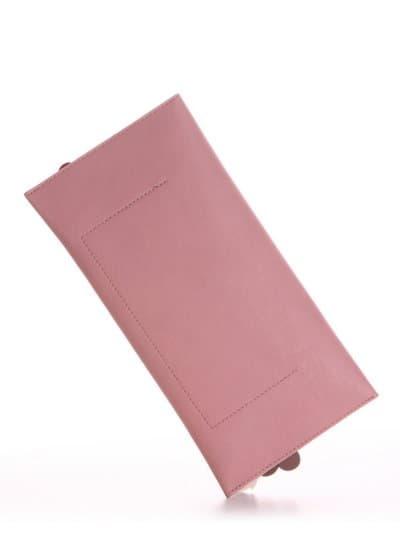 Молодіжна сумка, модель 190273 пудрово-рожевий. Фото товару, вид ззаду.