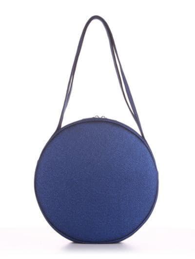Летняя сумка, модель 190302 синий. Фото товара, вид сзади.