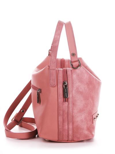 alba soboni. Сумка 200104 пудрово-рожевий. Вид 2.