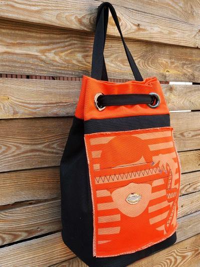 alba soboni. Сумка-рюкзак 200252 чорний. Вид 2.