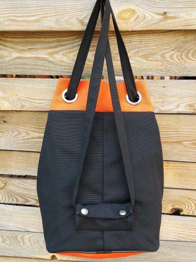 alba soboni. Сумка-рюкзак 200252 чорний. Вид 3.