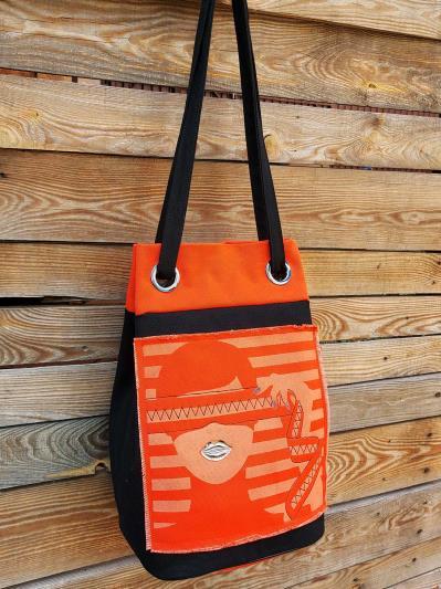 alba soboni. Сумка-рюкзак 200252 чорний. Вид 5.