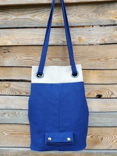 alba soboni. Сумка-рюкзак 200254 синий. Вид 4.