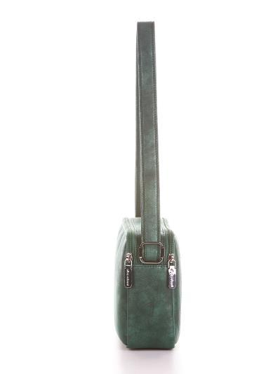 alba soboni. Сумка через плече 200214 смарагдовий. Вид 2.