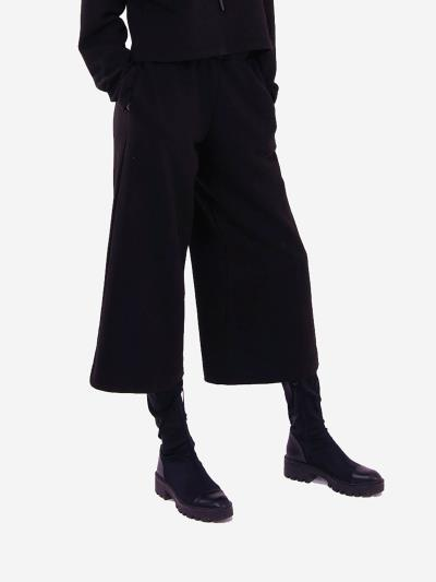 alba soboni. Жіночі кюлоти 201-000-01 чорний. Вид 3.