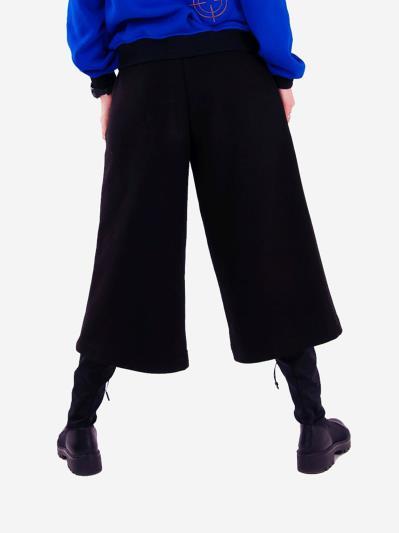 alba soboni. Жіночі кюлоти 201-000-01 чорний. Вид 4.