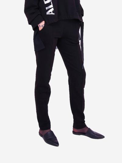 alba soboni. Жіночі штани 201-000-02 чорний. Вид 2.