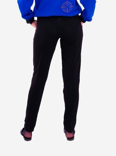 alba soboni. Жіночі штани 201-000-02 чорний. Вид 3.