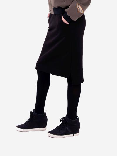 alba soboni. Жіноча спідниця 201-000-03 чорний. Вид 2.