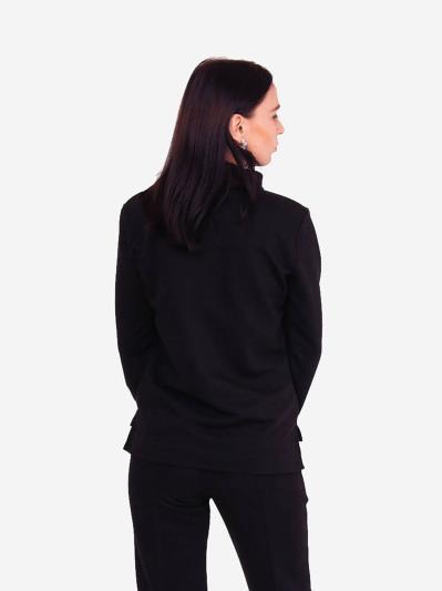 alba soboni. Жіночий світшоти 201-018-00 чорний. Вид 3.