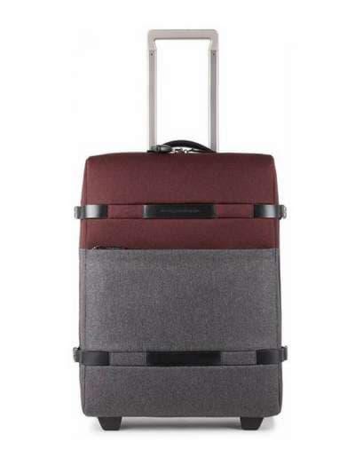 Брендовый чемодан piquadro move2/red-grey bv3877m2_rgr. Фото товара, вид 1