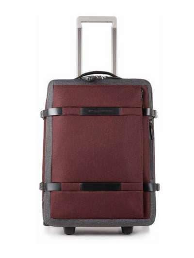 Брендовый чемодан piquadro move2/red-grey средний bv2960m2_rgr. Фото товара, вид 1