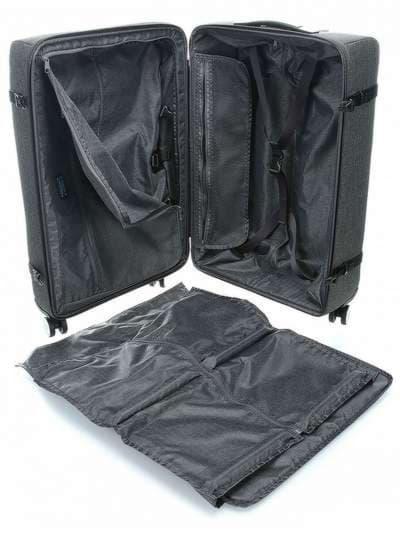Молодежный чемодан piquadro move2/grey средний bv3874m2_gr. Фото товара, вид 2