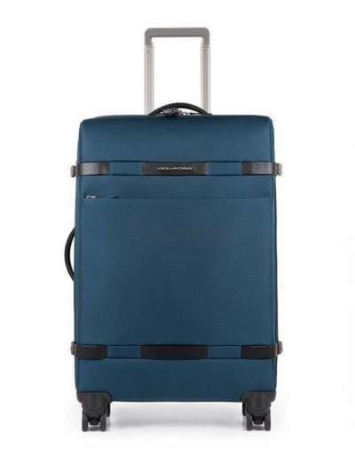 Молодежный чемодан на 4 колесах piquadro move2 (m2) bv3874m2_blu. Фото товара, вид 1