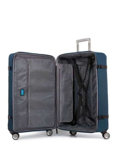 Молодежный чемодан на 4 колесах piquadro move2 (m2) bv3874m2_blu. Фото товара, вид 2