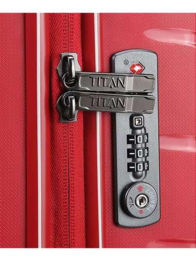 Молодежный чемодан на 4 колесах titan limit m ti823405-10. Фото товара, вид 3