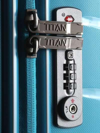 Модный чемодан на 4 колесах titan limit m ti823405-21. Фото товара, вид 2