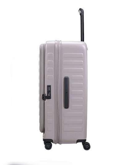Стильный чемодан на 4 колесах lojel cubo 18/warm grey маленький lj-cf1627-1s_gr. Фото товара, вид 3