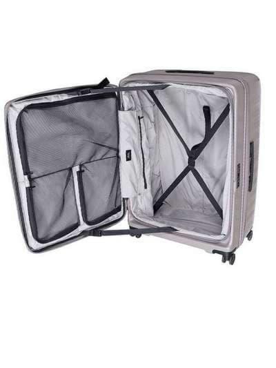 Стильный чемодан на 4 колесах lojel cubo 18/warm grey маленький lj-cf1627-1s_gr. Фото товара, вид 4