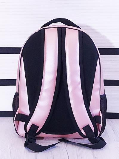 alba soboni. Рюкзак 201701 рожевий-перламутр. Вид 3.