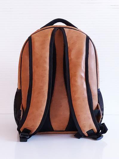 alba soboni. Рюкзак 201711 коричневий. Вид 4.