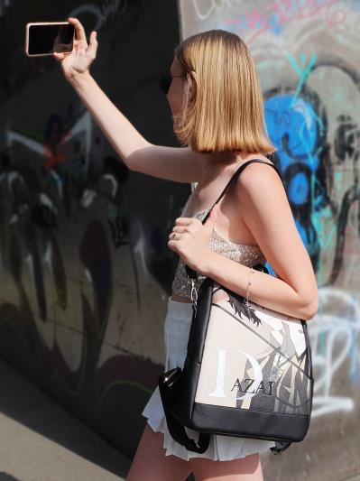 Підлітковий рюкзак аниме Дазай Осаму alba soboni 211520 колір чорний. Фото - 5