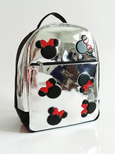 Рюкзак шкільний для дівчинки Микки Маус alba soboni 211501 колір срібло. Фото - 4