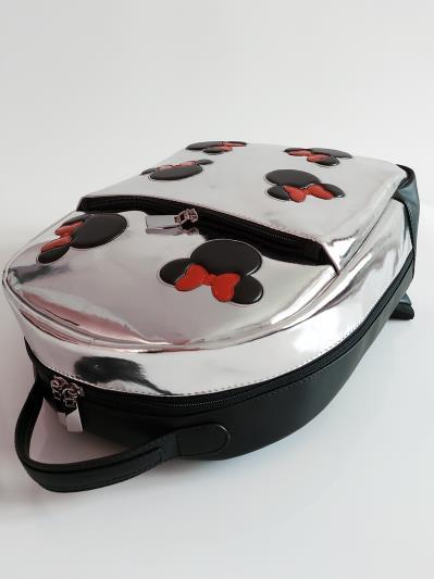 Рюкзак шкільний для дівчинки Микки Маус alba soboni 211501 колір срібло. Фото - 6