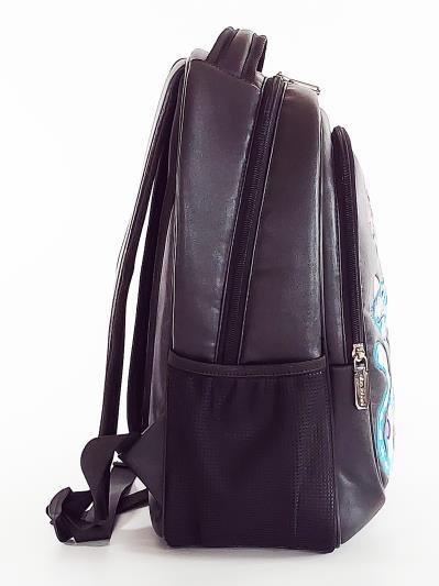 Фото товара: шкільний рюкзак 211706 чорний. Фото - 3.