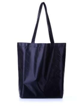 Модная сумка для покупок, модель 172752 синий. Изображение товара, вид сбоку.