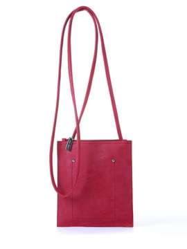 Модная сумка для покупок, модель 172753 красный. Изображение товара, вид спереди.