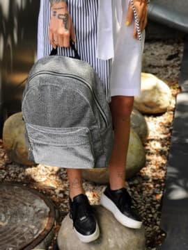 Рюкзак 191756 темне срібло