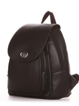 Шкільний рюкзак, модель 191761 чорний. Зображення товару, вид збоку.