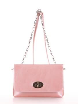 Клатч 192831 розовый-перламутр