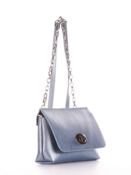 Клатч 192832 блакитний-перламутр