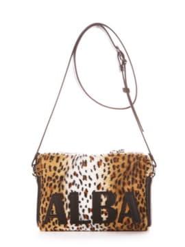 Сумка через плечо 192911 леопардовый