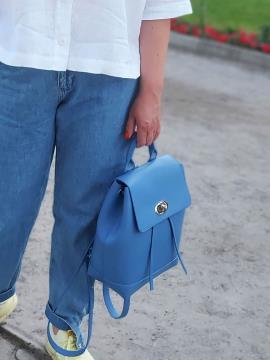 Фото товара: рюкзак 212304 блакитний. Вид 1.
