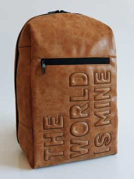 Фото товара: рюкзак 212362 коричневый. Вид 2.