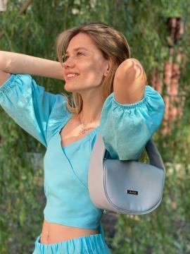 Фото товара: сумка 212312 светло-серый. Фото - 2.